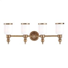 Bath and Vanity - AGED BRASS