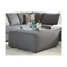 Red Hot Buy- Be Happy! Oversized Accent Ottoman