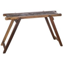 Folding Console Table (Each One Will Vary)