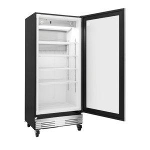Frigidaire Commercial 18.4 Cu. Ft., Glass Door Merchandiser in Stainless Steel **OPEN BOX ITEM** West Location