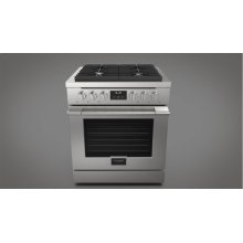 """30"""" All Gas Range - Stainless Steel"""