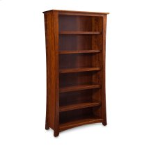 Loft Open Bookcase, Loft Open Bookcase, 6-Adjustable Shelves