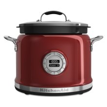 4-Quart Multi-Cooker - Candy Apple Red