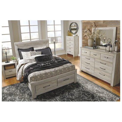 Queen Panel Bed Frame