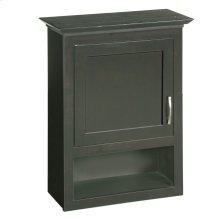 """Ventura Bathroom Wall Cabinet with 1-Door, 22"""" Espresso #541318"""