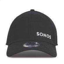 Black- Sonos Snapback Mesh Hat