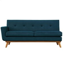 Engage Left-Arm Loveseat in Azure