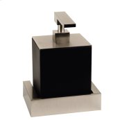 SPECIAL ORDER Wall-mounted liquid soap dispenser - black Neolyte