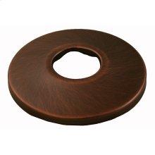 "Old World Bronze Escutcheon 1/2"" IPS Low Pattern 2-1/2"" OD"