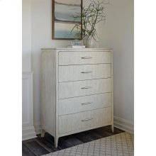 Lilly - Five Drawer Chest - Champagne Finish