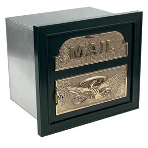 The Classic Faceplate Mailbox Product Image