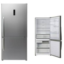 Stainless 14.8 cu. ft. Energy Star Bottom Mount