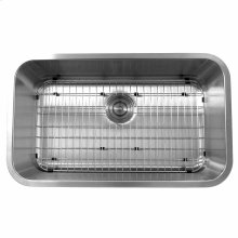 30 Inch Large Rectangle Single Bowl Undermount Stainless Steel Kitchen Sink