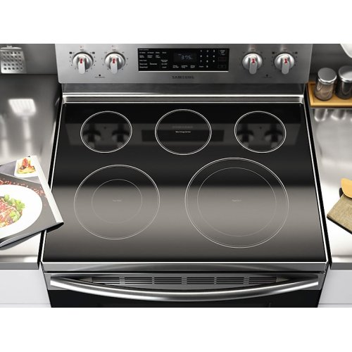 5.9 cu. ft. Freestanding Electric Range with Convection in Stainless Steel