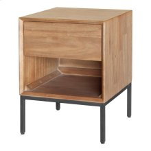 Hathaway Night Stand/Side Table, Newton Brown