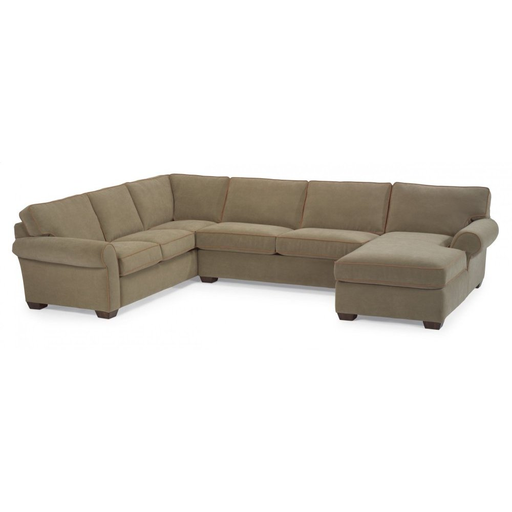 Vail Leather Sectional