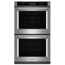 """27"""" Double Wall Oven with Even-Heat™ True Convection (Upper Oven) - Stainless Steel"""