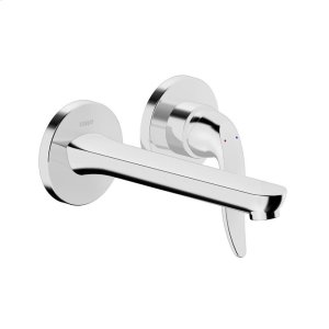 Style 2-hole in-wall for wash basin, chrome Product Image