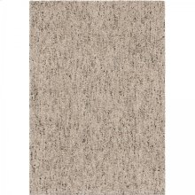Multimix Contemporary 5x8 Area Rug in Beige/Black