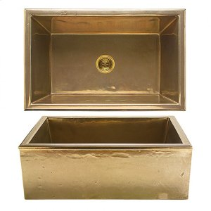 Alturas Apron Front Sink - KS3120 Silicon Bronze Brushed Product Image