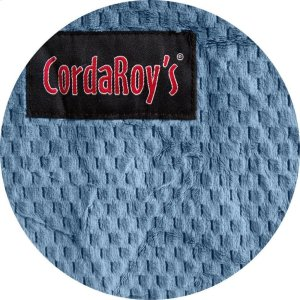 Cover for Pillow Pod or Footstool - Chenille - Slate Product Image