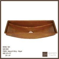 1601 Rectangular Bar Sink Product Image