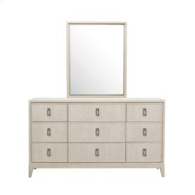 Meyers Park Beveled Dresser Mirror