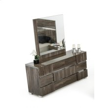 Modrest Picasso Italian Modern Grey Lacquer Dresser