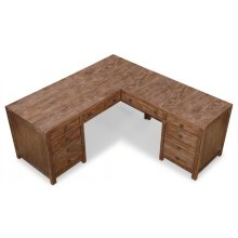 Hampton L-Shaped Desk