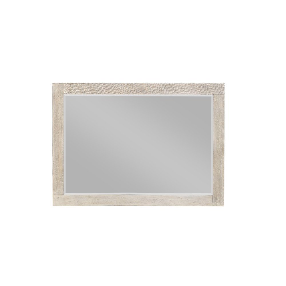 Emerald Home Nova Landscape Mirror-beveled Edge-sterling Gray Finish B700-24