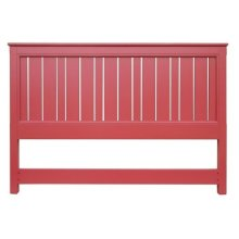 Cottage King Headboard - Red