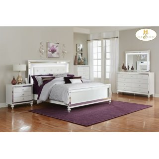 Alonza Queen Bed LED Lighting