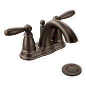 Brantford oil rubbed bronze two-handle bathroom faucet