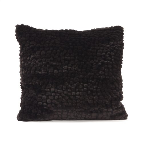 "Pillow 16""x16"" Sable Ebony"