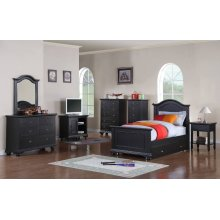Brook Black Youth Bedroom