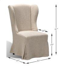 Duchess Dining Chair, Wheat Linen