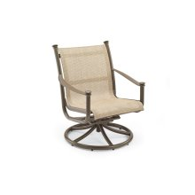 Outdoor Swivel Tilt Chat Chair