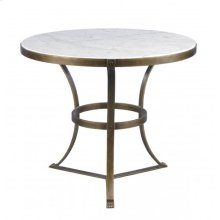 Piers Side Table-Aged Gold