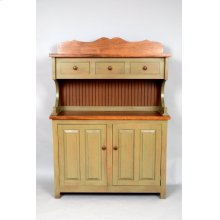 """#465 Bakers County Hutch 50""""wx17""""dx69""""h"""