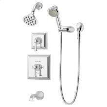 Symmons Canterbury® Tub/Shower/Hand Shower System - Polished Chrome