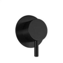 Volume Control RND + LEVER - Black