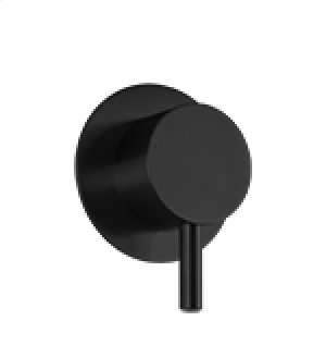 Volume Control RND + LEVER - Black Product Image
