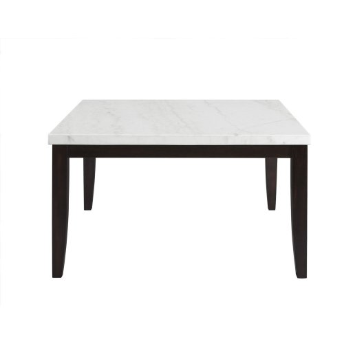 """Francis Square White Marble Table Top 54"""" x54"""" x 55mm"""
