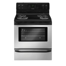 Frigidaire 30'' Freestanding Electric Range (This is a Stock Photo, actual unit (s) appearance may contain cosmetic blemishes. Please call store if you would like actual pictures). This unit carries our 6 month warranty, MANUFACTURER WARRANTY and REBATE NOT VALID with this item. ISI 30395