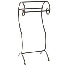 Waterbury Iron Towel Stand- Small