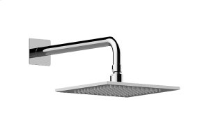 Contemporary Showerhead with Arm Product Image
