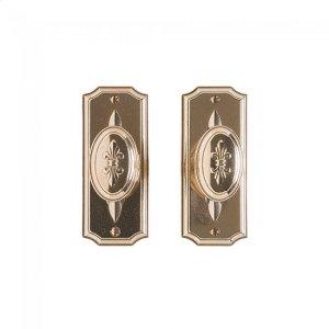 "Bordeaux Passage Set - 2 1/2"" x 6"" Silicon Bronze Brushed Product Image"