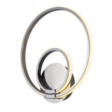 Modern Circles- Double LED Wall Sconce