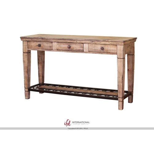 4 Drawer Cocktail Table