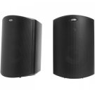 "All Weather Outdoor Loudspeakers with 5"" Drivers and 3/4"" Tweeters in Black Product Image"